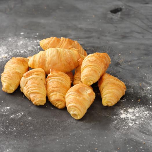 10 Afbak mini roomboter croissants