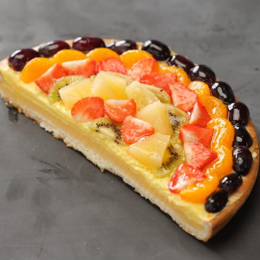 Vruchtenvlaai half