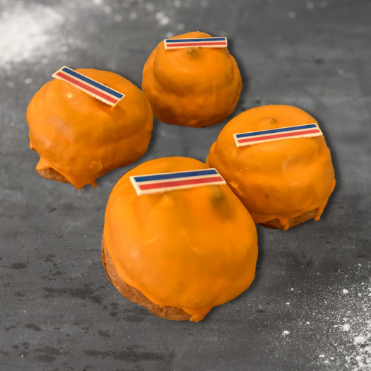 Oranje Soezen 2 stuks